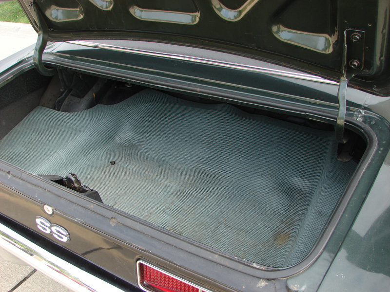 1969 Camaro Trunk Carpet - Carpet Vidalondon