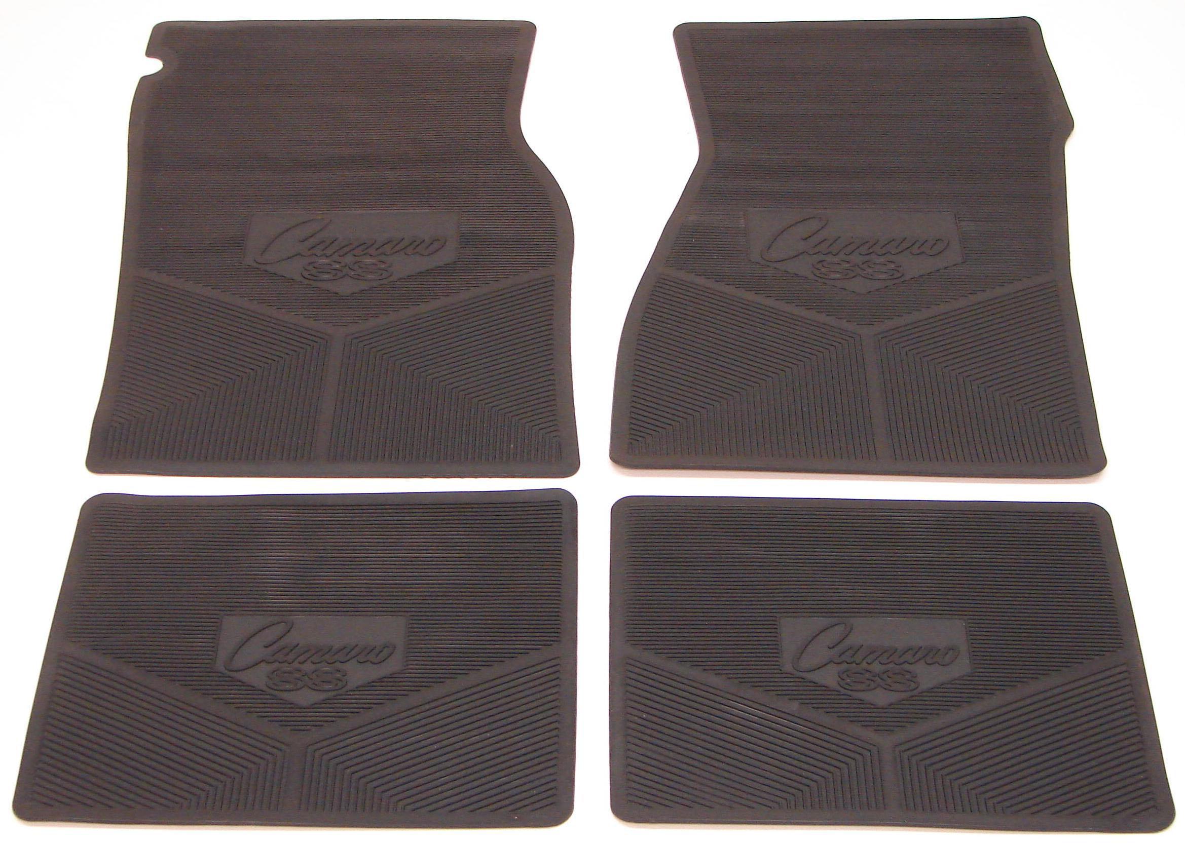 1967 1968 1969 camaro floor mats w camaro ss logo dark for 1967 camaro floor mats