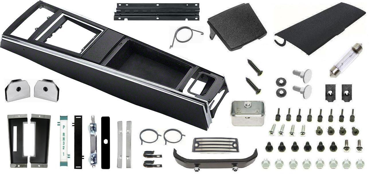 1967 camaro console kit  turbo  w  gauges